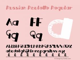 Russian Roulette Regular Version 1.00 June 20, 2013, initial release图片样张