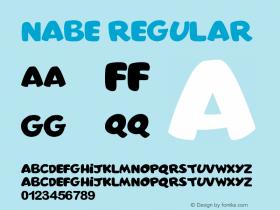 nabe Regular Version 1.00 June 20, 2013, initial release图片样张