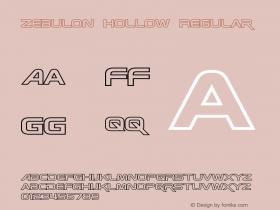 Zebulon Hollow Regular Version 1.00 - June 21, 2013图片样张