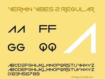 Vermin Vibes 2 Regular Version 1.00 June 23, 2013, initial release图片样张