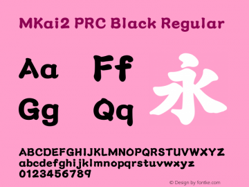 MKai2 PRC Black Regular Version 1.00图片样张
