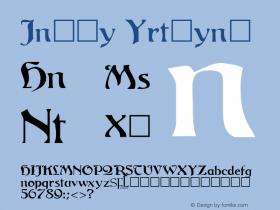 Carol Regular Unknown Font Sample
