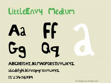 LittleEnvy Medium Version 001.000图片样张