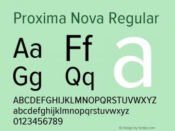 Proxima Nova Regular Version 2.008; Proxima Nova Cond;com.myfonts.easy.marksimonson.proxima-nova.cond-regular.wfkit2.version.4n4u Font Sample