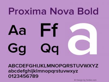 Proxima Nova Bold Version 2.008; Proxima Nova Semibold;com.myfonts.easy.marksimonson.proxima-nova.semibold.wfkit2.version.4mZM Font Sample