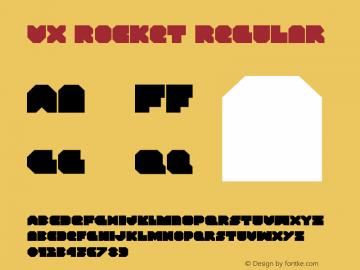 VX Rocket Regular Version 1.0; 2013图片样张