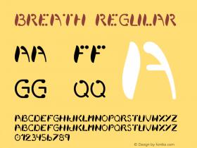 Breath Regular Unknown图片样张