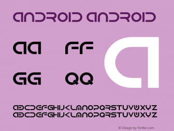 Android Android Version 1.00 September 8, 2013, initial release图片样张