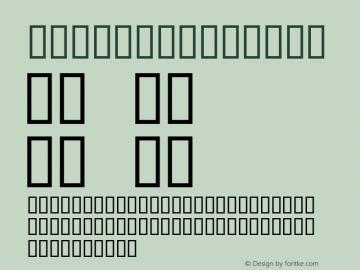 Botica Regular Altsys Fontographer 4.0.3 6/6/94 Font Sample