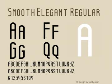 Smooth Elegant Regular Version 1.0图片样张