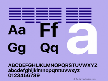 系统字体 粗体 11.0d37e0--BETA Font Sample
