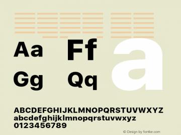 系统字体 粗体 11.0d51e0--BETA Font Sample