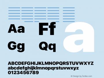 系统字体 黑 11.0d37e0--BETA Font Sample