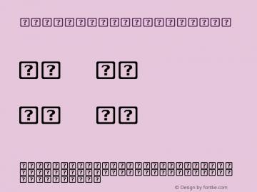 .LastResort Regular 1.1d1e5 Font Sample