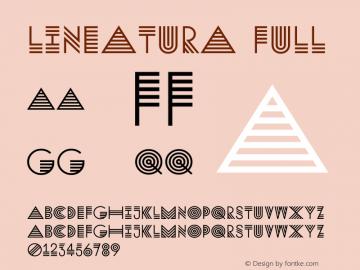 Lineatura Font,Lineatura Full Font,Lineatura-Full Font