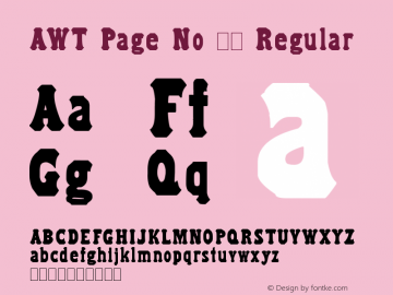 AWT Page No 51 Regular Version 1.00 February 3, 2014, initial release图片样张