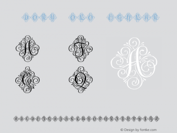 Adorn Solo Regular Version 1.000 Font Sample