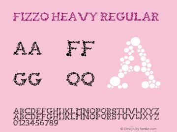 FIZZO Heavy Regular Version 1.000;PS 001.001;hotconv 1.0.56图片样张