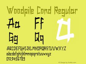 Woodpile Cond Regular Version 1.000图片样张