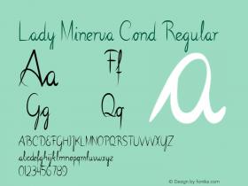 Lady Minerva Cond Regular Version 1.000图片样张