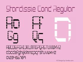 Stardissie Cond Regular Version 1.000图片样张