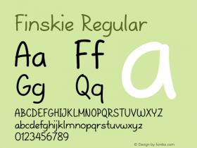 Finskie Regular Version 1.000图片样张