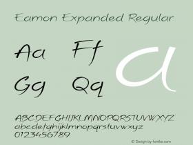 Eamon Expanded Regular Version 1.500图片样张