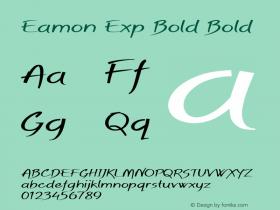 Eamon Exp Bold Bold Version 1.500图片样张