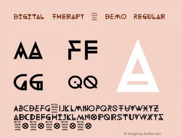 Digital Therapy - DEMO Regular Version 1.00 September 10, 2014, initial release图片样张