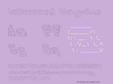 Internerd Regular Version 1.000图片样张