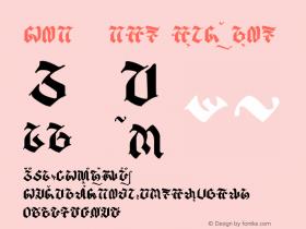 balaka - aksara sunda Regular Version 1.00 August 13, 2014, initial release图片样张