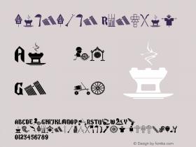 dangding Regular Version 1.00 June 17, 2014, initial release图片样张