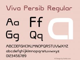 Viva Persib Regular Version 1.00 November 9, 2014, initial release图片样张