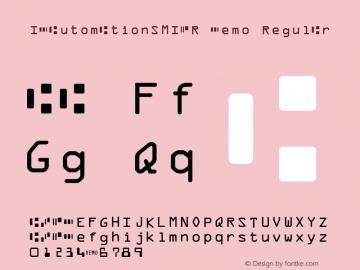 IDAutomationSMICR Demo Regular IDAutomation.com 2015图片样张