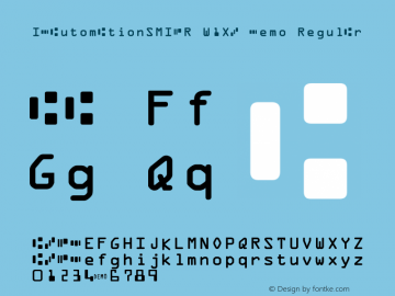 IDAutomationSMICR W1XB Demo Regular IDAutomation.com 2015图片样张