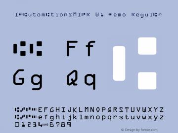 IDAutomationSMICR W1 Demo Regular IDAutomation.com 2015图片样张