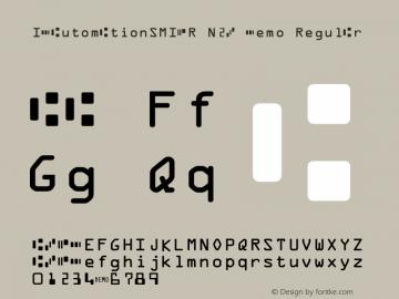 IDAutomationSMICR N2B Demo Regular IDAutomation.com 2015图片样张