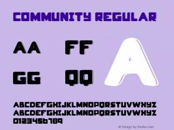 community Regular Version 1.00 January 27, 2015, initial release图片样张