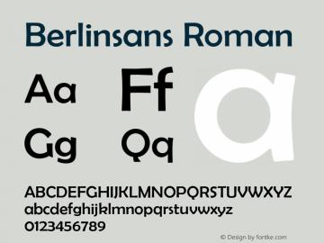 Berlinsans Roman 001.000图片样张