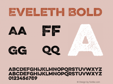 Eveleth Bold Version 1.000;com.myfonts.easy.yellow-design.eveleth.slant-regular.wfkit2.version.4c7F Font Sample