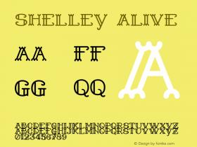 Shelley Alive Version 1.000 Font Sample