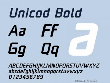 Unicod Bold Version 1.000;com.myfonts.easy.mostardesign.unicod-sans.medium-italic.wfkit2.version.4mfm Font Sample