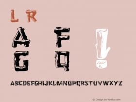Logger Roman 001.001 Font Sample
