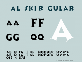 Zaleski Regular Altsys Metamorphosis:4/13/92 Font Sample