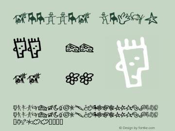 GoodDog Bones Macromedia Fontographer 4.1.5 6/14/98 Font Sample