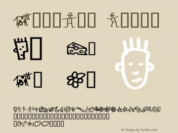 GoodDog Bones Altsys Fontographer 4.0.4 2/26/96 Font Sample