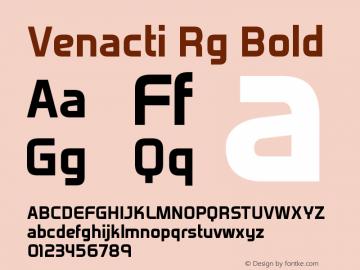 Venacti Rg Bold Version 2.003图片样张