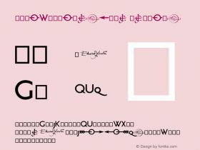 RailwayAlternate Regular 1.000 Font Sample