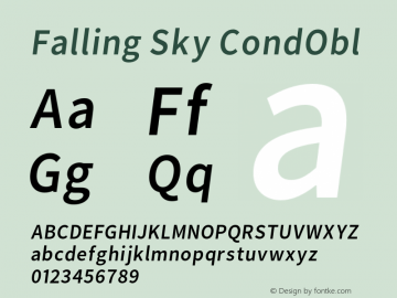 Falling Sky CondObl Version 1.000图片样张