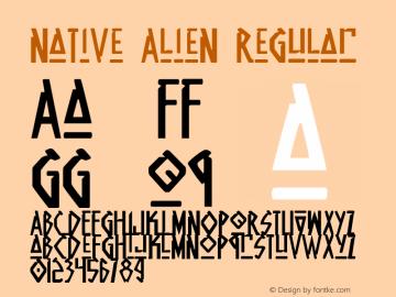 Native Alien Regular 1图片样张